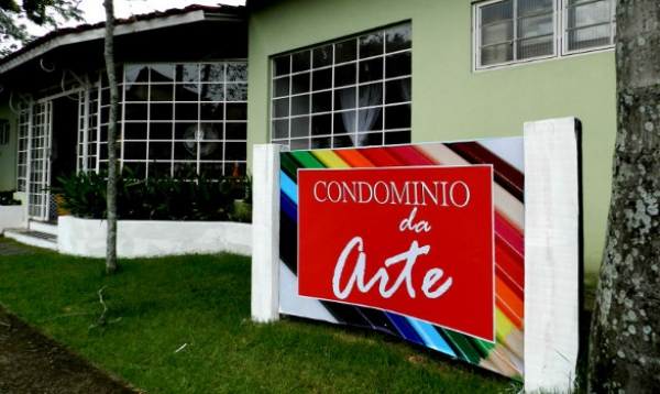 Condomínio da Arte ganha nova fachada